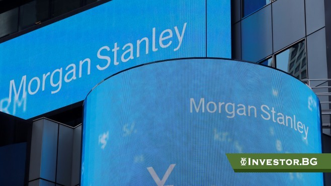 Американската инвестиционна банка Morgan Stanley отчете печалба и приходи за